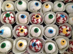 Fear Factor Cup Cakes