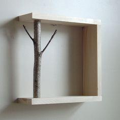 #birch #branch #shelf