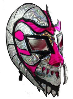 EPHESTO Female Lucha Libre Mask (pro-LYCRA) Hot Pink (www.maskmaniac.com)