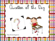 Question of the day ideas