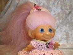 One of my vintage 1964 DAM troll dolls
