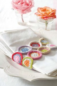 crochet napkin holders
