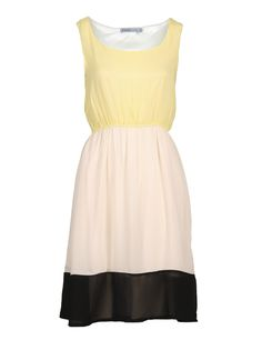 Jurk Trixdress Yellow | Soaked in Luxury | Dresses Only (79,95 euro)