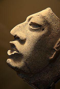 Mayan death mask, Palenque, Mexico
