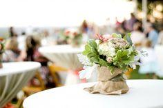 Katelyn & Chris - bistro table decor