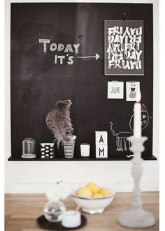 PARETI LAVAGNA on Pinterest  Chalkboards, Blackboard Wall ...