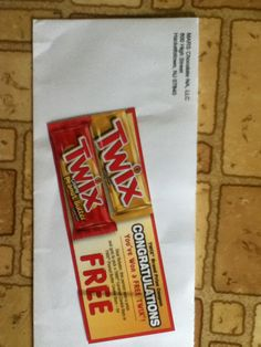 Free TWIX Bar coupon