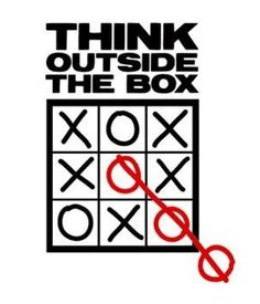 Think outside the box :)