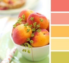 May Color Play: Berry Sorbet, Melon Berry, Summer Sunrise, Harvest Gold, and Limeade Ice
