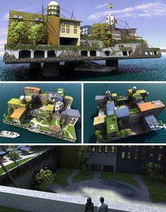 fantastic future sea city