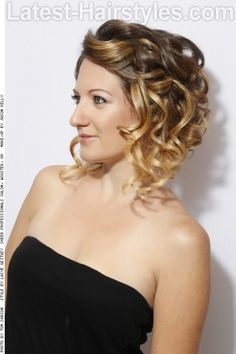 Ombre Haircolor with Blonde Ends