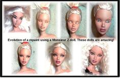 How to Repaint Barbie and Fashion Dolls- How to Paint a Doll