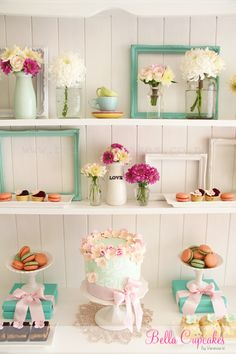 Sweet dessert table idea