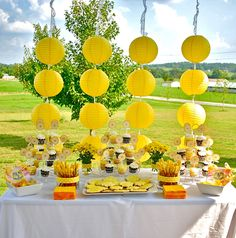 rapunzel party ideas | Real Party: My Little Sunshine - Kara's Party Ideas - The Place for ...