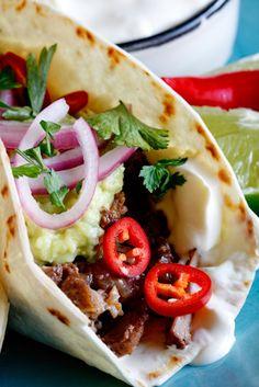 Slow-braised Short-Rib Tacos