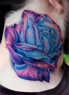 Not a fan of the placement...but the COLORS, the shading is gorgeous! I love this
