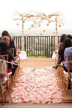 wedding backdrop/altar