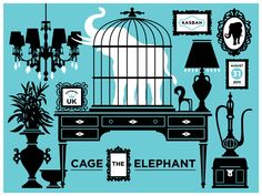 GigPosters.com - Cage The Elephant