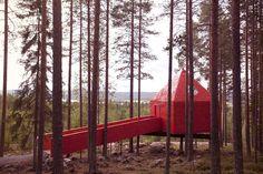 treehotel in sweden.  love