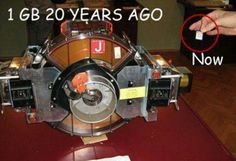 1GB 20 years difference
