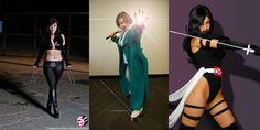 The X-Men are the most diverse group of people/mutants in the Marvel Universe, and our fans are no different. So in that honor have a few X-Men ladies: X-23, Dazzler and Psylocke. Cosplay is by Rose Ryan, Jill and Vanessa.    Photos by Simon Trussel, Christopher Kokkinos and Adam Wozney.    Marvel's use of all photos are governed by the Marvel.com Terms of Use and Privacy Policy. We are no longer accepting cosplay submissions for Costoberfest 2012!