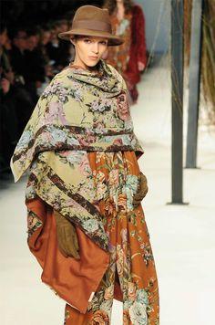 Kenzo boho chic, boho gypsi, formal outfit, amaz fashion, fashionmi style, chic boho, boho romant, free fashion, floral