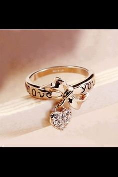 Charm Ring, Love You <3