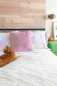 DIY This! Watercolor Pillowcases that Match your Decor
