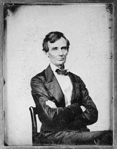 Abe, lookin classy.