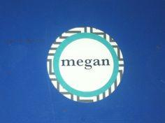 Print and fun color name tag