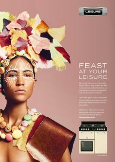 Feast at your leisure. Advertising Agency: TBWA\London, UK Executive Creative Director: Jeremy Carr Creative Director: Simon Morris Creatives: C