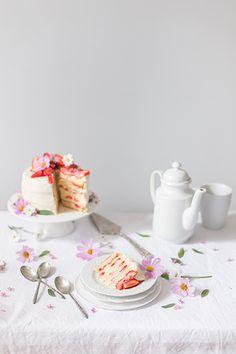 Strawberry Layer Cake Recipe