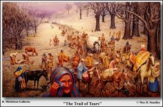 In 1817, some 6,000 of the Cherokee were persuaded by future president Andrew Jackson to voluntarily move to Arkansas Territory. But others resisted. Jackson when elected President in 1828, was committed to removing all Indians in the East and Southeast, by force if necessary. Congress passed the Indian Removal Act in 1830. The Cherokee fought it legally. But lost their case.