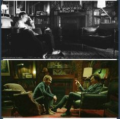 Before Sherlock came back - After Sherlock came back