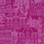 Michael Miller Fabrics Midnite Gems Maison Jewel [MM-CX6312-Jewel] - $8.95 : Pink Chalk Fabrics is your online source for modern quilting cottons and sewing patterns., Cloth, Pattern + Tool for Modern Sewists