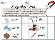 magnets on pinterest magnets worksheets and second grade science. Black Bedroom Furniture Sets. Home Design Ideas