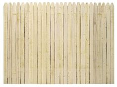 6'H x 8'W Stockade Natural Wood Fence Panel    $25.97 total $311.64