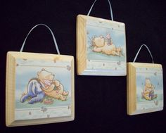 I could make these for the Classic Pooh Nursery!