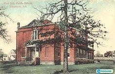 Jonesboro postcard post card - East Side Public School in Jonesboro, AR www.arkansasconstruction.co