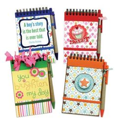Memo Pads with Pens