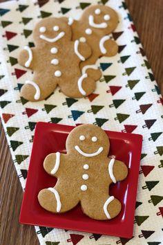 Gingerbread Men Cookies (Vegan, Gluten/Dairy Free)