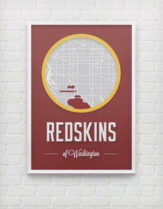 Washington Redskins Print