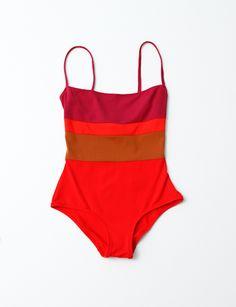 Laura Urbinati One-Piece Swimsuit- Multi swimsuit solid