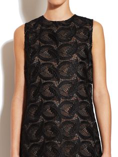 Guipure Lace Shift Dress from Elegant Dresses for Guests on Gilt