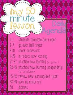 Successful 50 Minute Classes {Part 1}