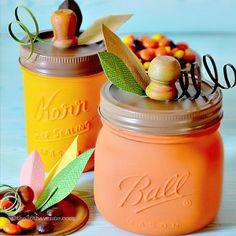 The 36th AVENUE | DIY Pumpkin Mason Jars | The 36th AVENUE