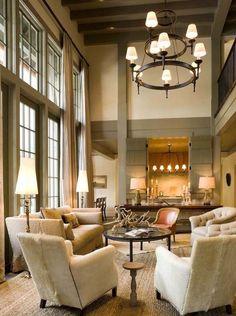 Aspen living room by McAlpine Tankersley.