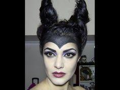 ▶ MALEFICENT (Angelina Jolie) inspired makeup tutorial - YouTube