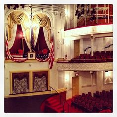 President Abraham Lincoln was shot at Ford's Theatre during a performance of Our American Cousin. He later died from the gunshot wound just across the street. Today, you can tour the theater and in-house museum for free, or you can take in a performance (mostly family-oriented musicals).
