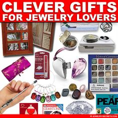 ► ► Clever Gift Ideas for Jewelry Lovers UNDER $25! Check them out... clever gift, gift ideas